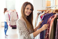Clothing boutique Royalty Free Stock Photo