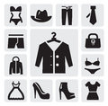 Clothing icon Royalty Free Stock Images