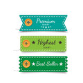 Clothing labels. Vector. Royalty Free Stock Photo