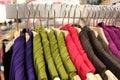 Clothing retail store Royalty Free Stock Photo