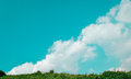 Cloud above mountain Royalty Free Stock Photo