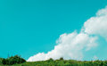 Cloud above mountain 2 Royalty Free Stock Photo
