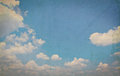 Cloud in blue sky background Stock Photography