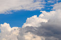 Cloud and bluesky background for adv design Royalty Free Stock Image