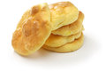 Cloud bread no carb bread is it made with eggs cream cheese cream of tartar Royalty Free Stock Image