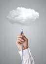 Stock Images Cloud computing