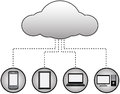 Cloud Computing Concept Stock Images