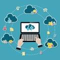 Cloud computing Royalty Free Stock Photo