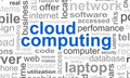 Cloud Computing Word Royalty Free Stock Image