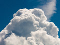 Cloud formation over cornwall Royalty Free Stock Photos