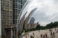 Cloud gate close up Royalty Free Stock Photos