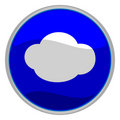 Cloud icon Royalty Free Stock Image