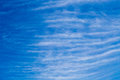 Cloud  many layer vertical on blue sky baclground Royalty Free Stock Photo