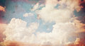 Cloud  old paper grunge background. Royalty Free Stock Photo