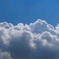Cloud panoramic shot pixels Stock Photography