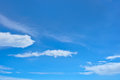 Cloud and sky clouds in clear blue Royalty Free Stock Photo