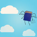 Cloud storage. Stock Image