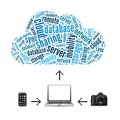 Cloud storage concept Royalty Free Stock Photo