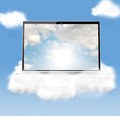 Cloud technologies Royalty Free Stock Photo