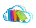 Cloud technology database icon isolated Stock Photography