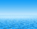 Cloud and water backdrop Royalty Free Stock Photography