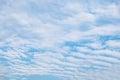 Cloud Wave Furrow Streaky In Sky