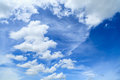 Cloud white on blue sky Royalty Free Stock Photography