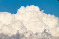 Cloud white clouds in a blue sky Royalty Free Stock Image