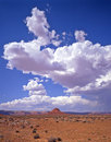 Clouds Above Valley of the Gods Stock Images