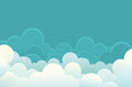 Clouds background. Royalty Free Stock Photography