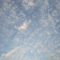 Clouds in the blue sky for adv or others purpose use Royalty Free Stock Photos