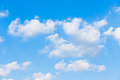 Clouds with blue sky background Royalty Free Stock Photo