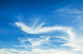 Clouds in the blue sky white Royalty Free Stock Photo