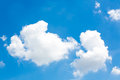Clouds in the blue sky white Royalty Free Stock Photography