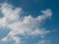 Clouds in the blue sky for your background Royalty Free Stock Images