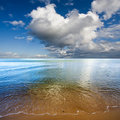 Clouds over Baltic Sea Royalty Free Stock Photo
