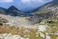 Clouds over Gergiyski lakes,  Pirin Mountain Royalty Free Stock Photo