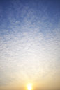 Clouds and sky blue for background Royalty Free Stock Photo