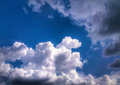 Clouds on the sky hdr photo Royalty Free Stock Photo