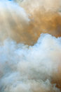 Clouds of smoke Royalty Free Stock Images