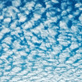 Cloudscape with altocumulus clouds at sunny day Stock Image