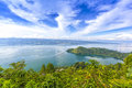 Cloudscape of danau toba indonesia Stock Photography