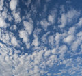Cloudy blue sky for background Royalty Free Stock Images