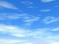 Cloudy blue sky high quality and high resolution Stock Photography
