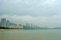 Cloudy gulf in zhuhai china Stock Photography