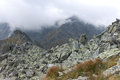 Cloudy morning in High Tatras