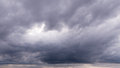 Cloudy Sky Full Of  Deep Grey ...