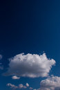 Cloudy sky very beautiful with dark blue colors Stock Photography