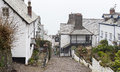 Clovelly devon a view of village of for more information see http www co uk village Royalty Free Stock Photos
