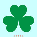 Clover it is color icon .